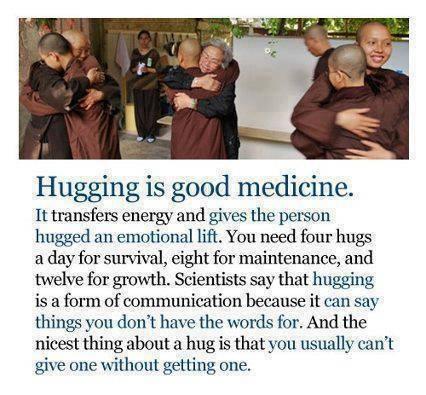 Des Hugs pour la confiance en soi